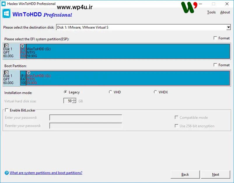 آموزش نصب ویندوز بدون CD/DVD یا درایو USB 04