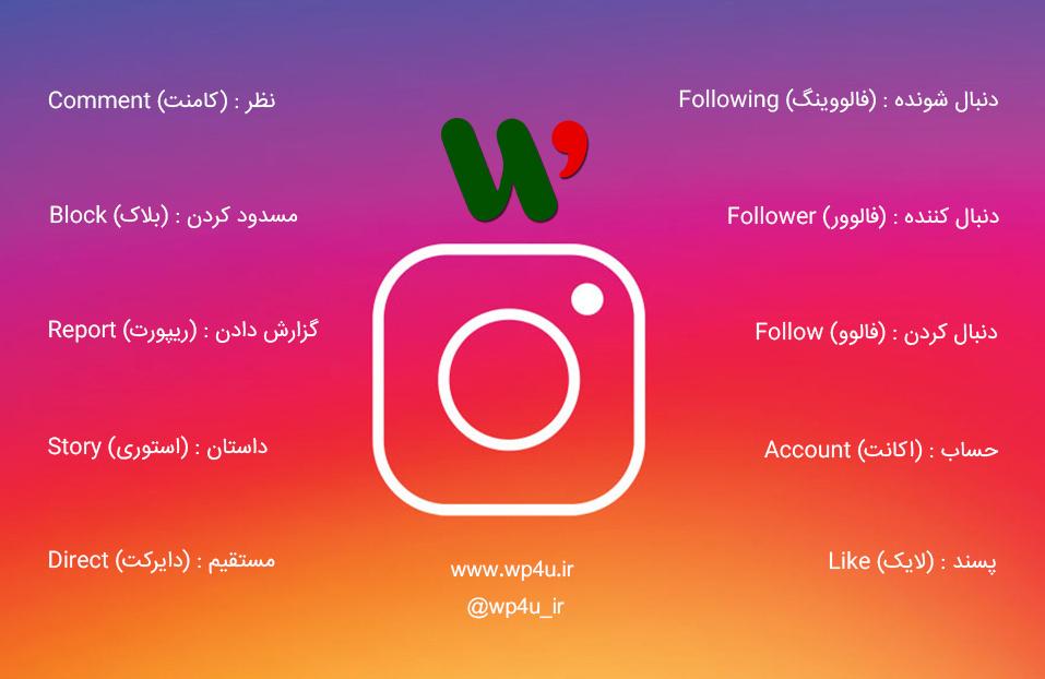 راهنمای اینستاگرام فارسی