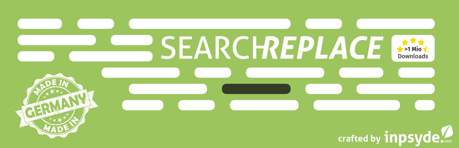افزونه Search and Replace