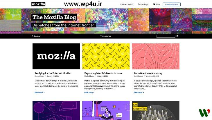 آشنایی با بهترین وبسایتهای ساخته شده با وردپرس